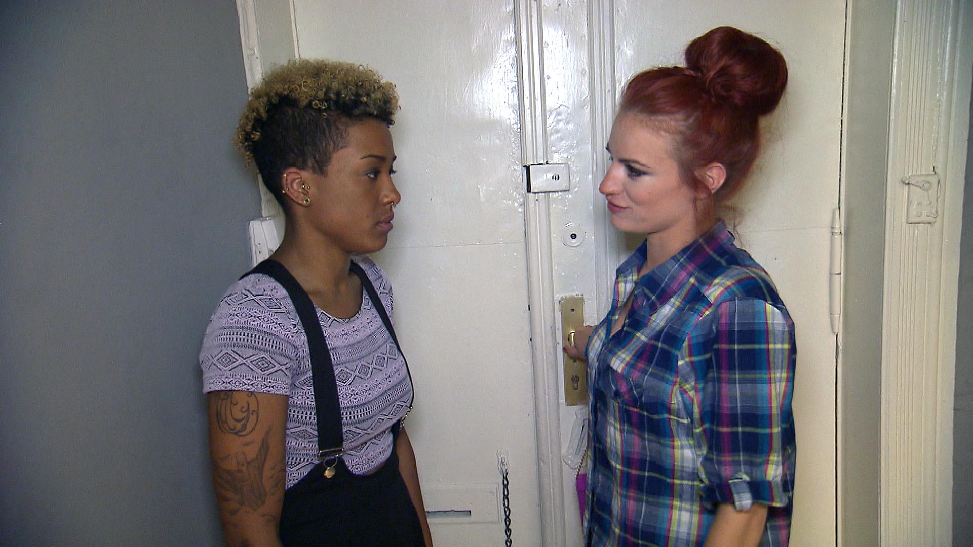 Melissa (li.) und Sarah (re.) (Quelle: RTL 2)