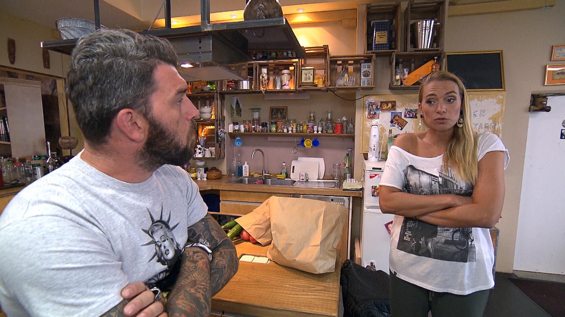 Inka und Alex streiten sich.. (Quelle: RTL 2)
