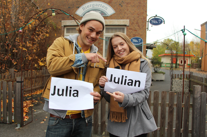 Julian Bayer und Julia Albrecht (Quelle: RTL 2)