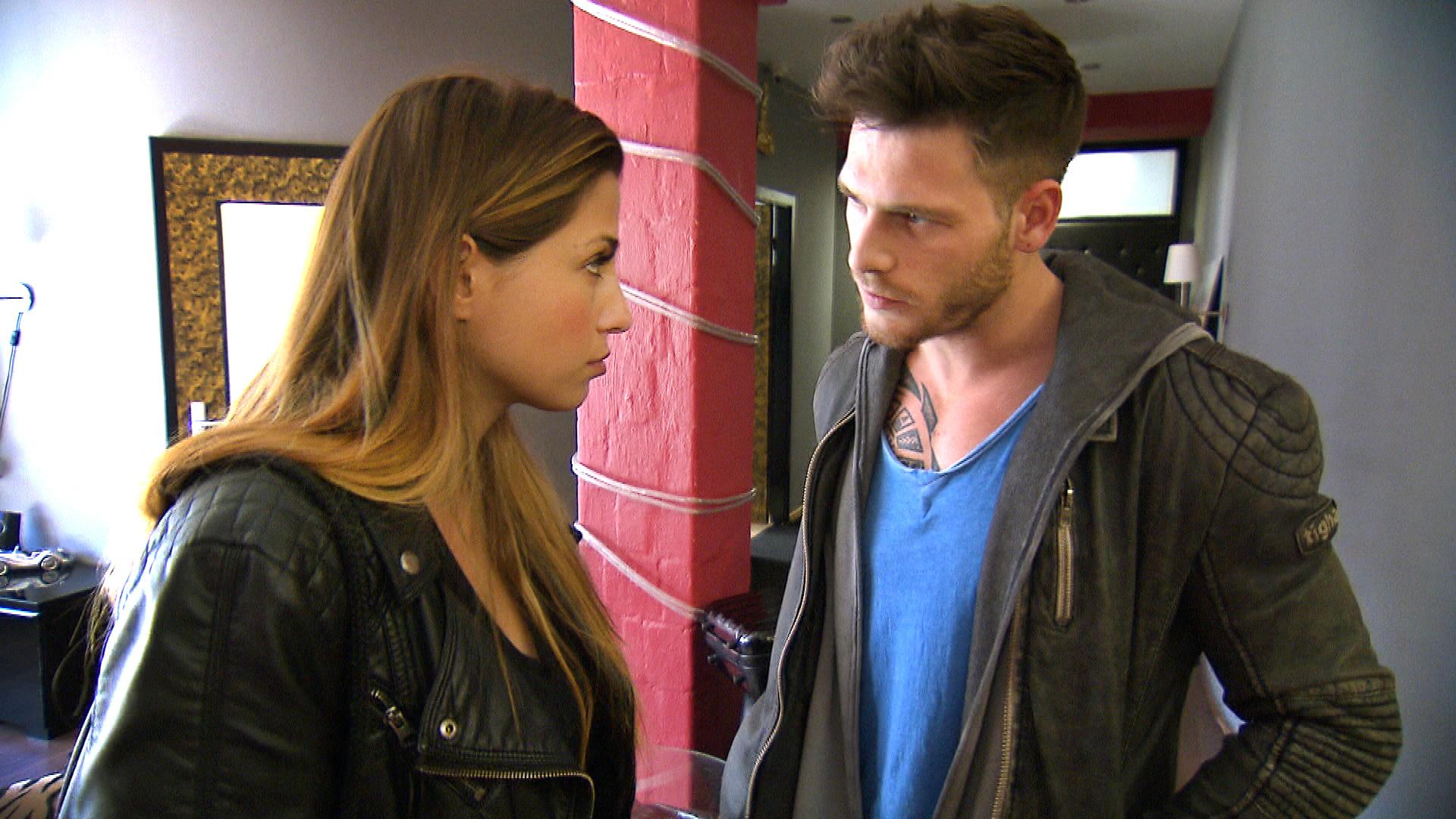 Alessia,li., und Daniel (Quelle: RTL 2)