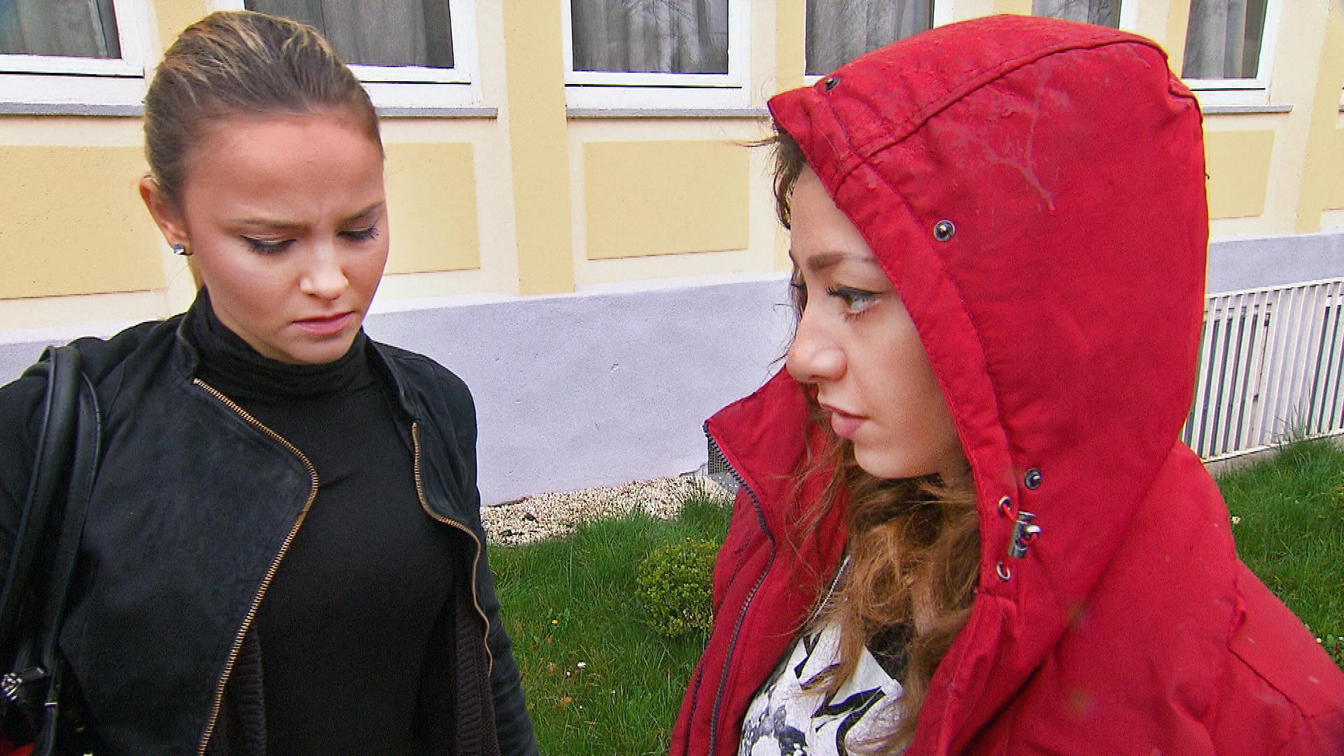 Elli,li., Lina,re. (Quelle: RTL 2)