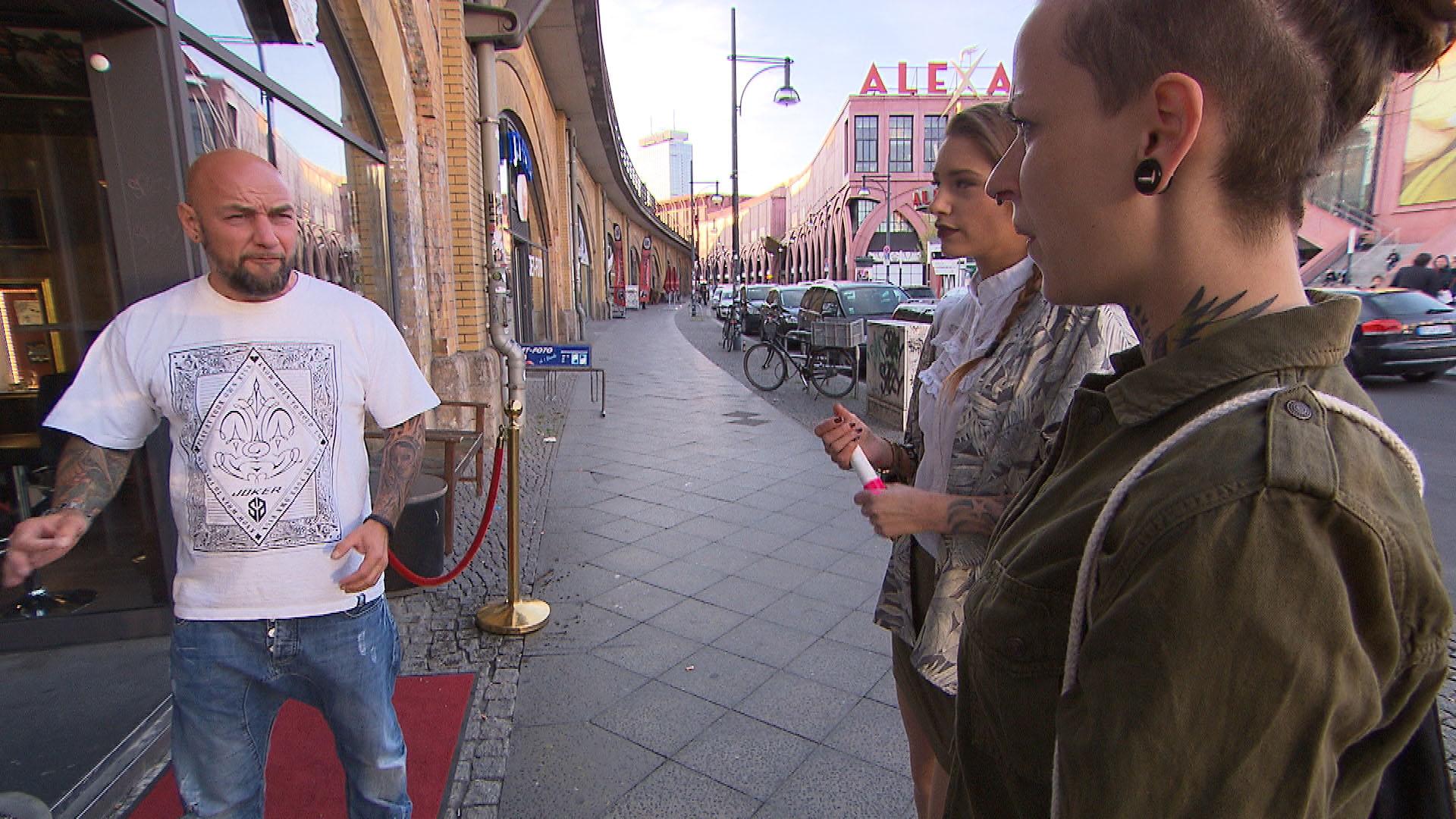 Krause,li. Milla,Mi. Caro,re. (Quelle: RTL 2)