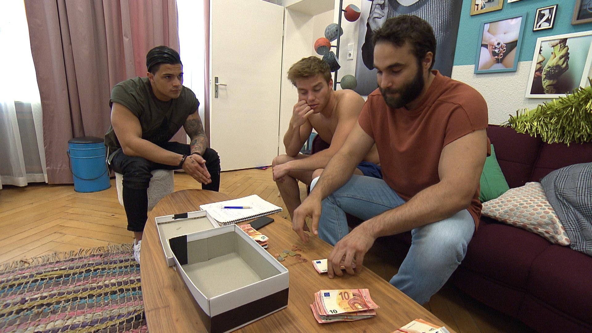 v.l.n.r.: Chico, Felix, Diego,re. (Quelle: RTL 2)
