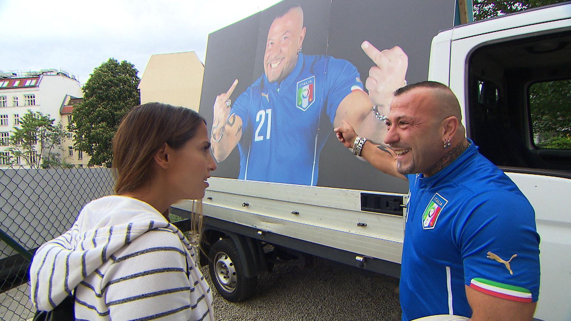 Alessia,li Fabrizio,re. (Quelle: RTL 2)