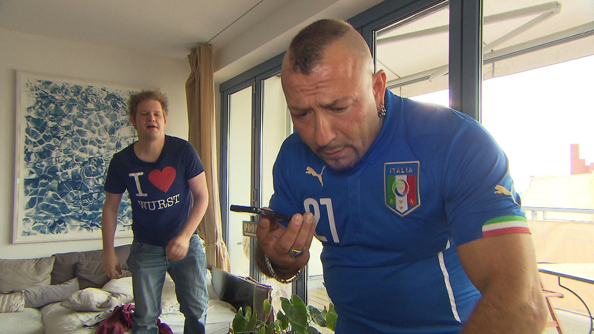 Ole,li. Fabrizio,re. (Quelle: RTL 2)
