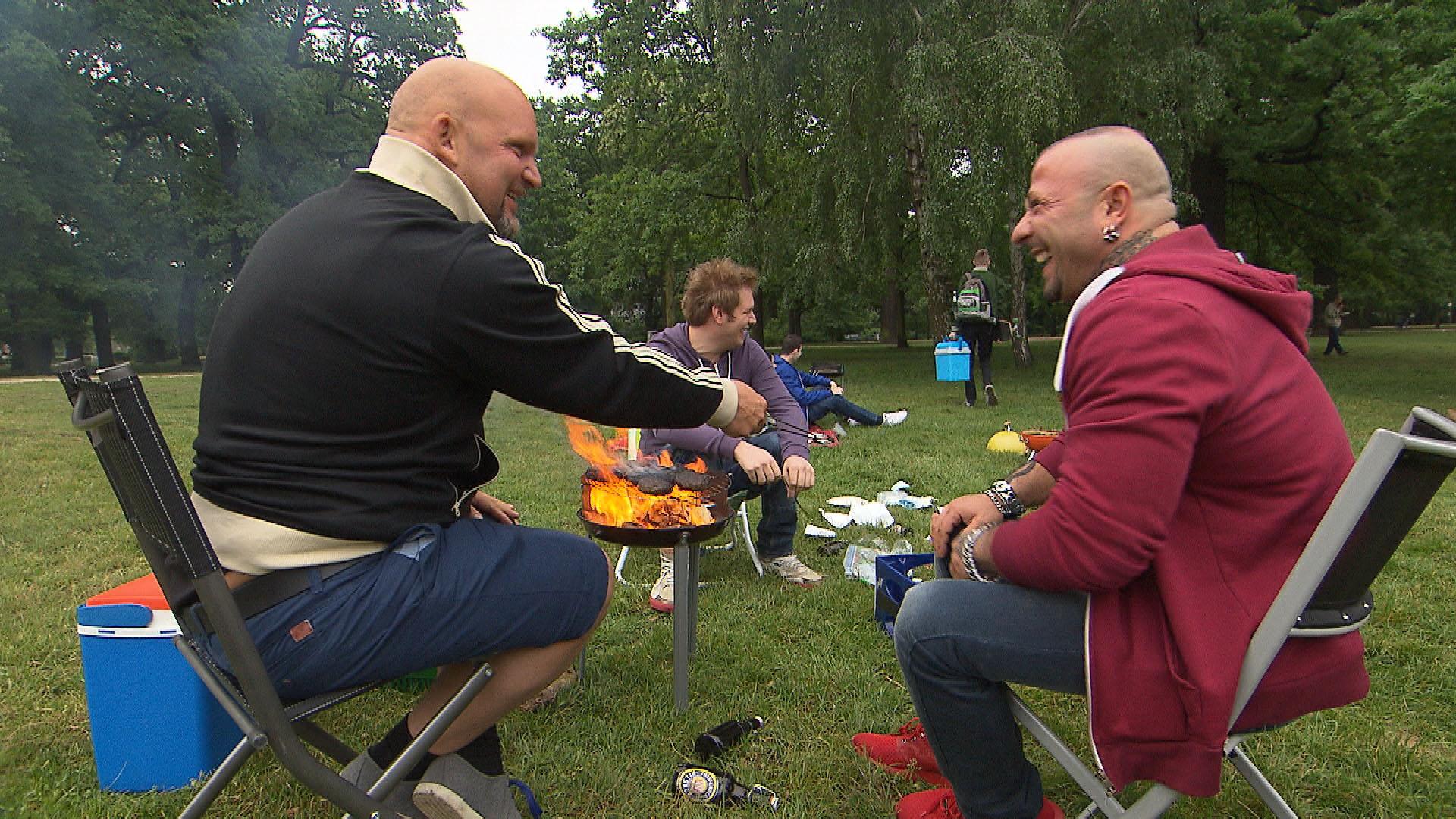 Joe,li. Ole,Mi. Fabrizio,re. (Quelle: RTL 2)