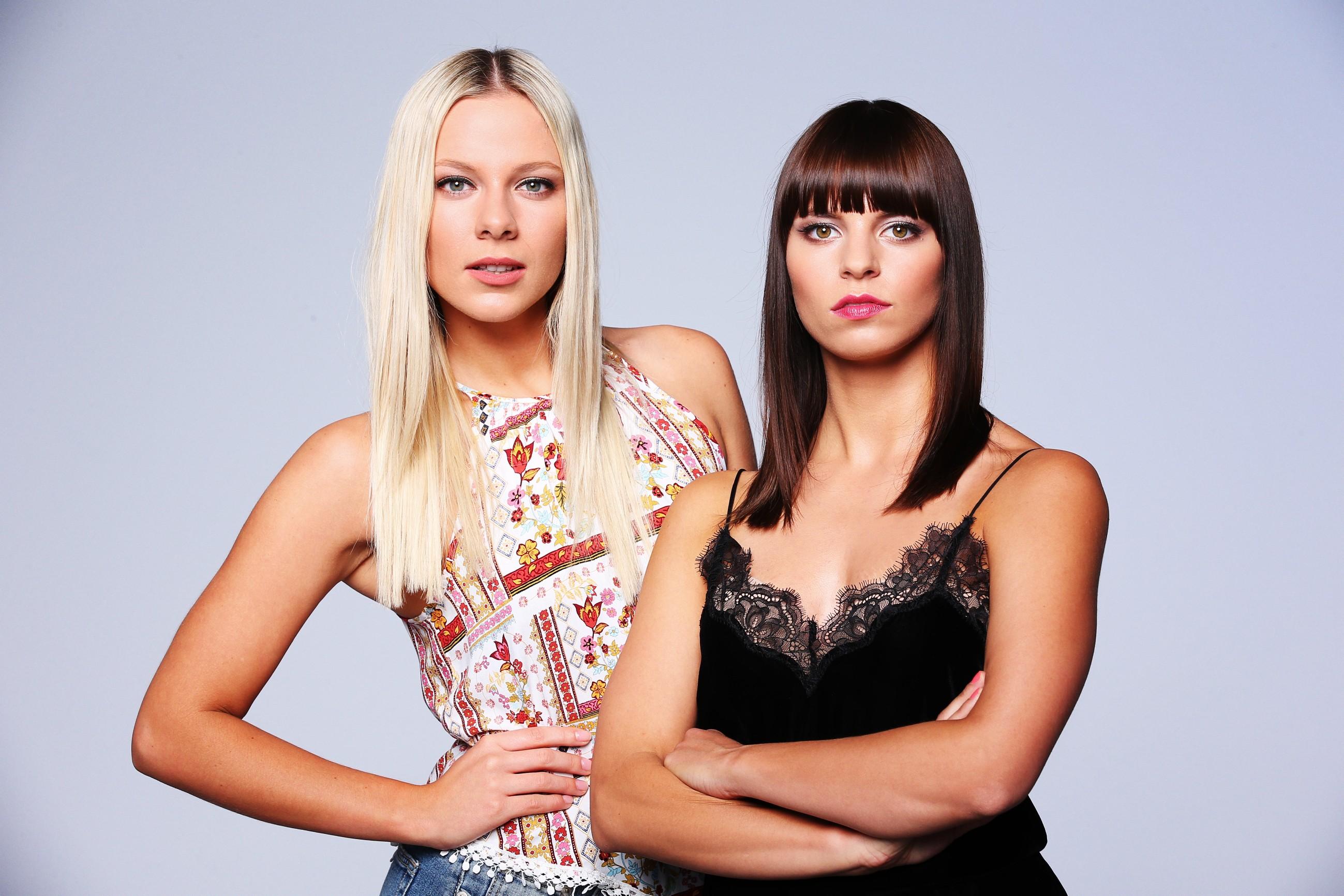 """10 Jahre """"Alles was zählt"""" - Cheyenne Pahde (l.) und Franziska Benz"""