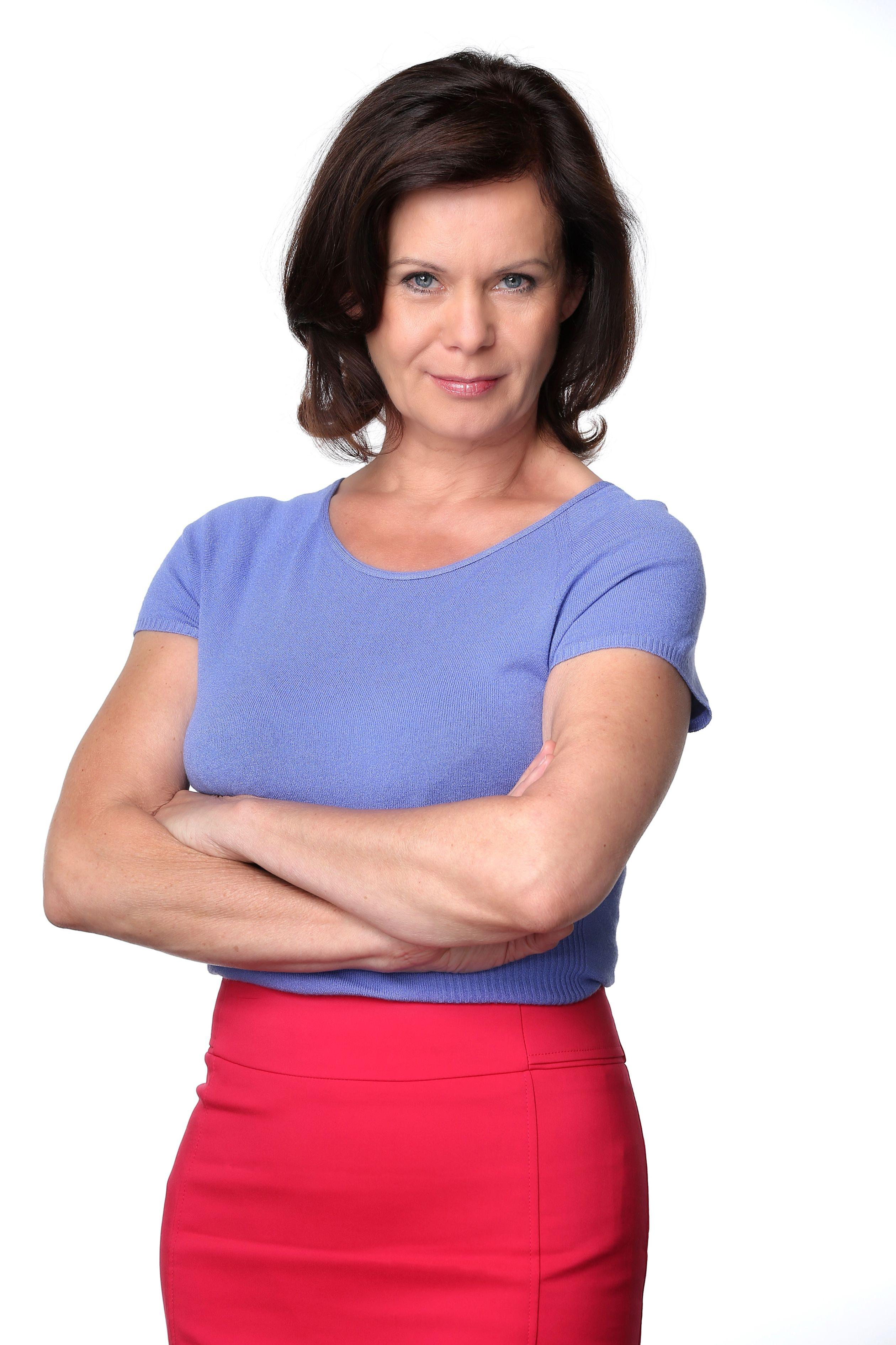 Petra Blossey spielt Irene Weigel