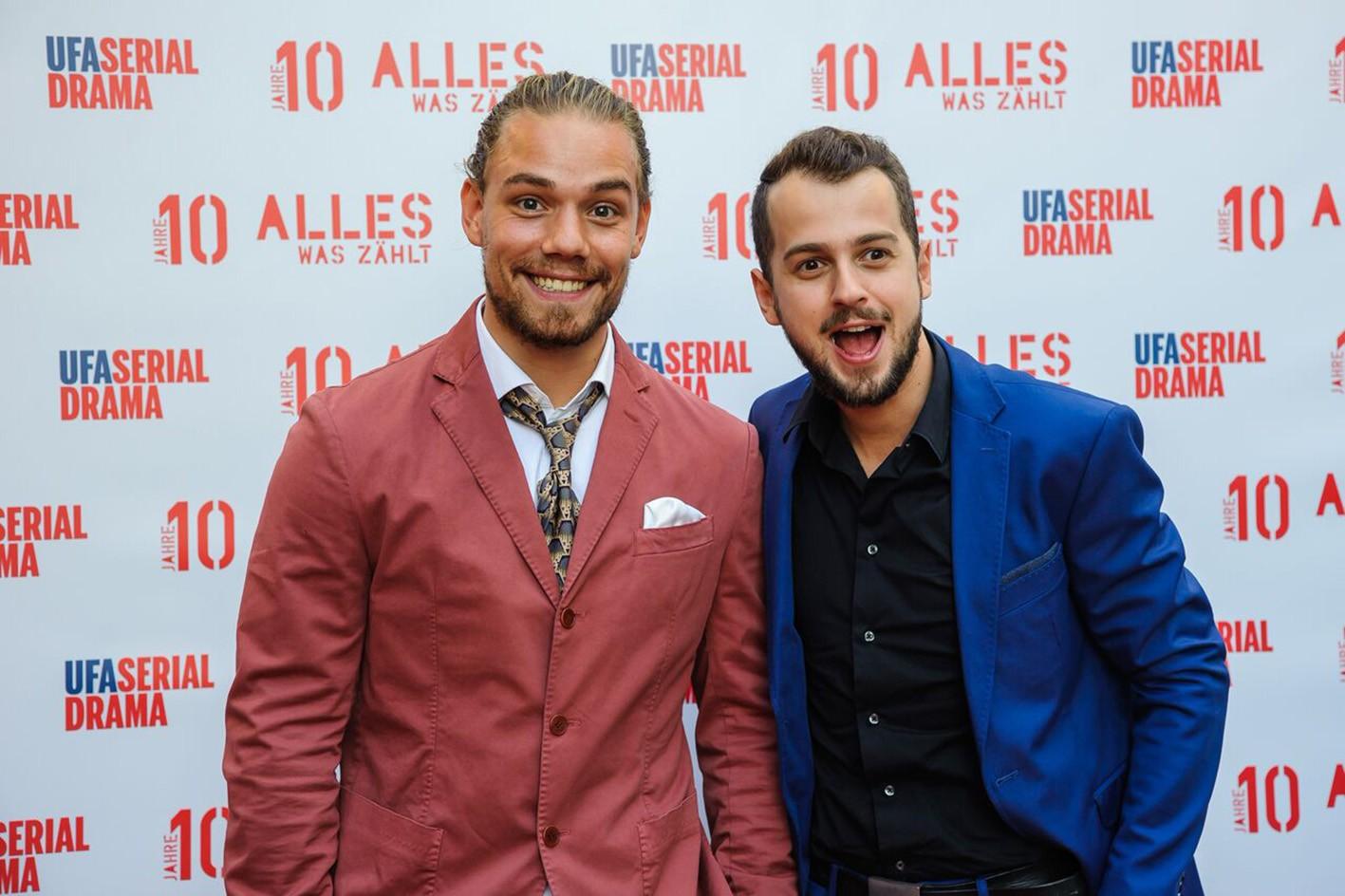 Julian Bayer (l.) und Michael Jassin