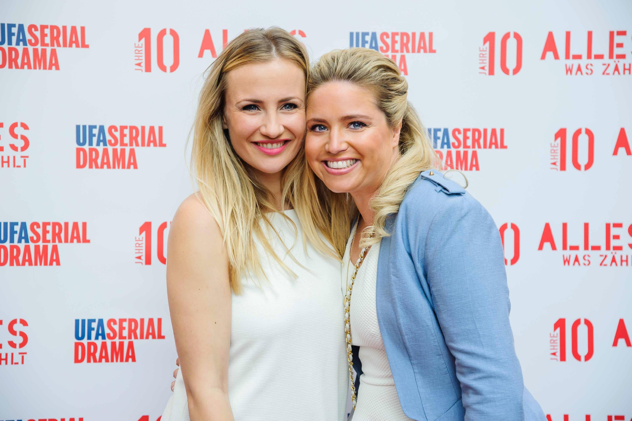 v.l.: Ania Niedieck und Caroline Frier