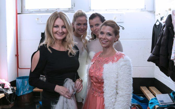 Alles was zählt: Frauke Ludowig als Ehrengast auf der Eisgala!