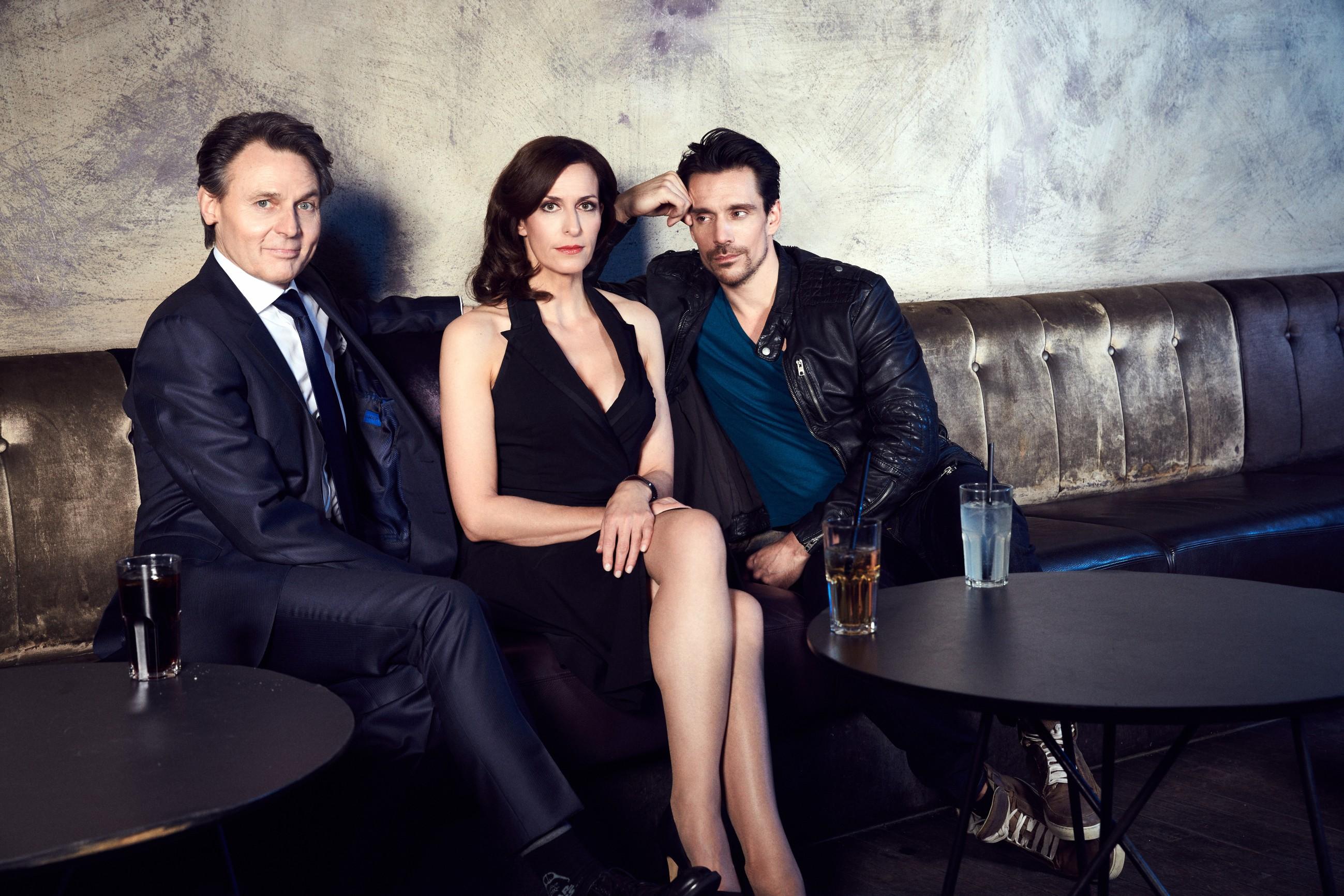 v.l.: Wolfgang Bahro, Ulrike Frank, Philipp Christopher