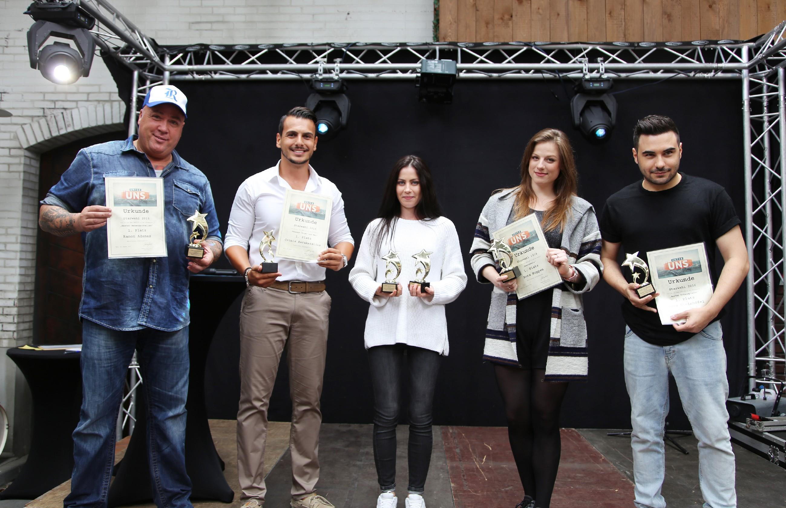 v.l.: Ramon Ademes, Cronis Karakassidis, Valea Katharina Scalabrino, Nora Koppen und Lars Steinhöfel