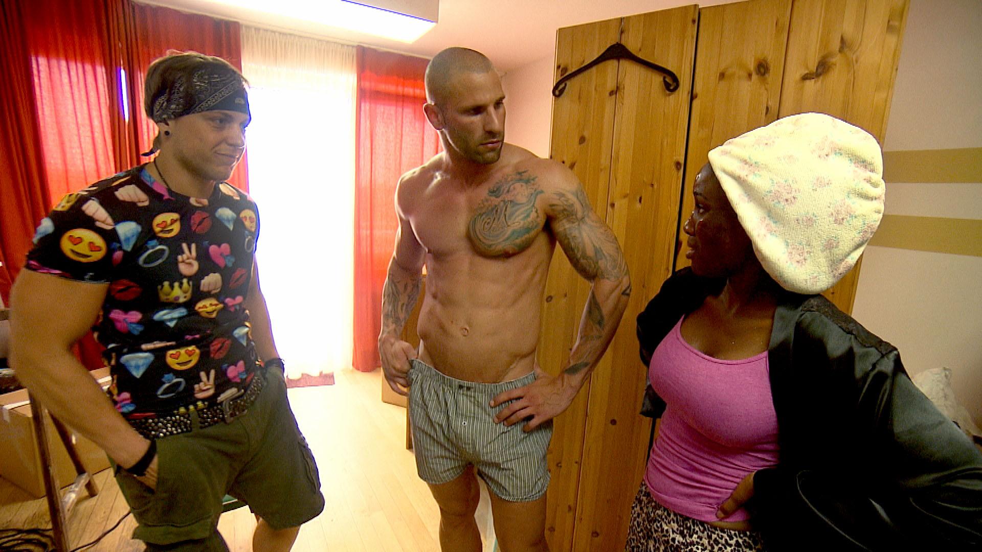 Kevin, Patrick, Michelle (Quelle: RTL 2)