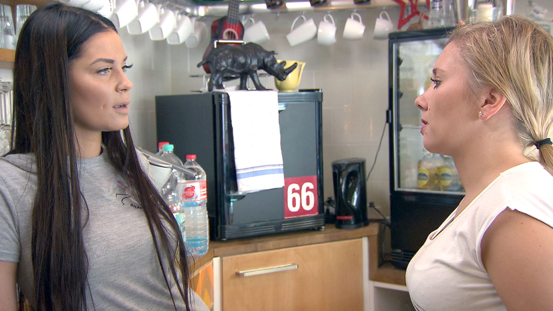 Yvonne,li. Chantal,re. (Quelle: RTL 2)