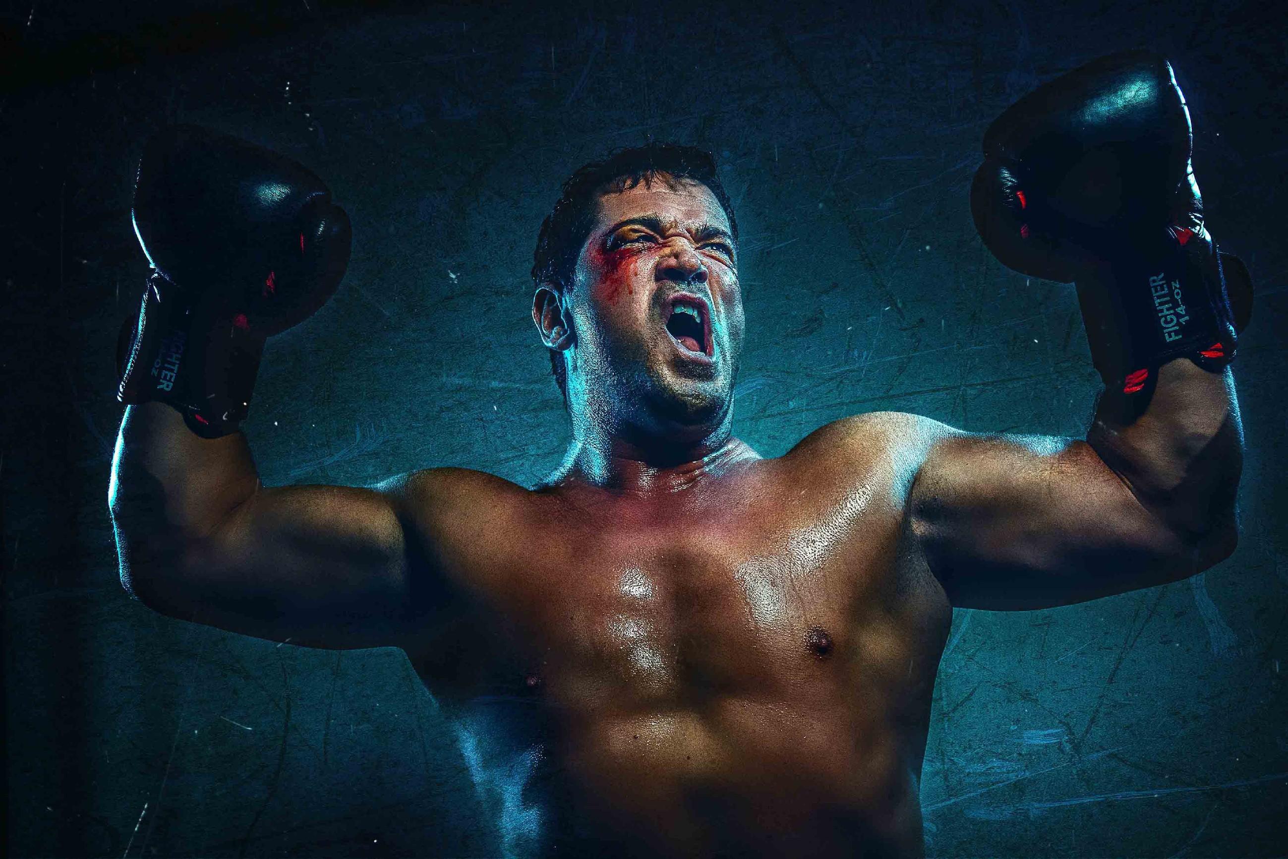Sam Eisenstein als Rocky Balboa