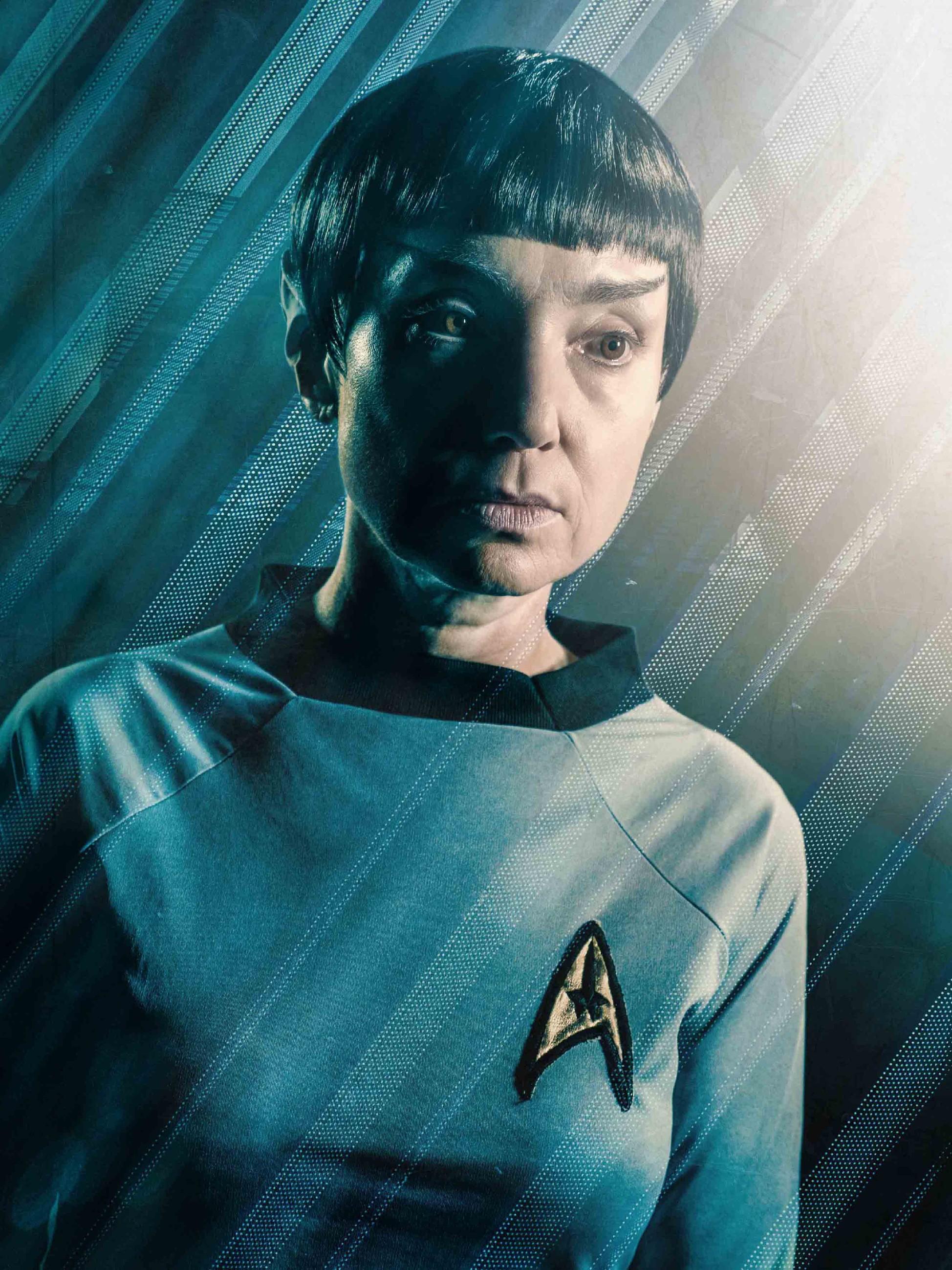Tatjana Clasing als Spock