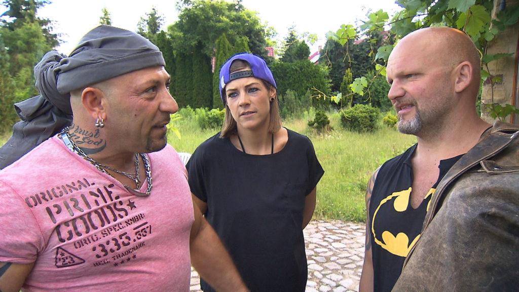 v.l.n.r.: Fabrizio, Alina, Joe