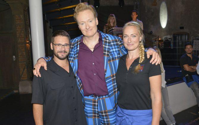 Talkmaster Conan O'Brien heute bei GZSZ!