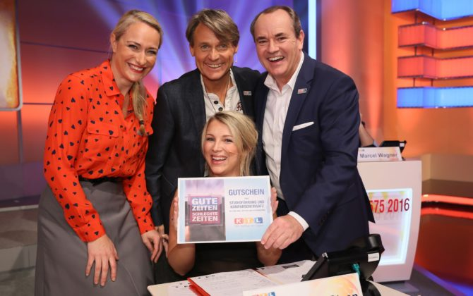 Helfende Hände: GZSZ beim RTL-Spendenmarathon 2016!