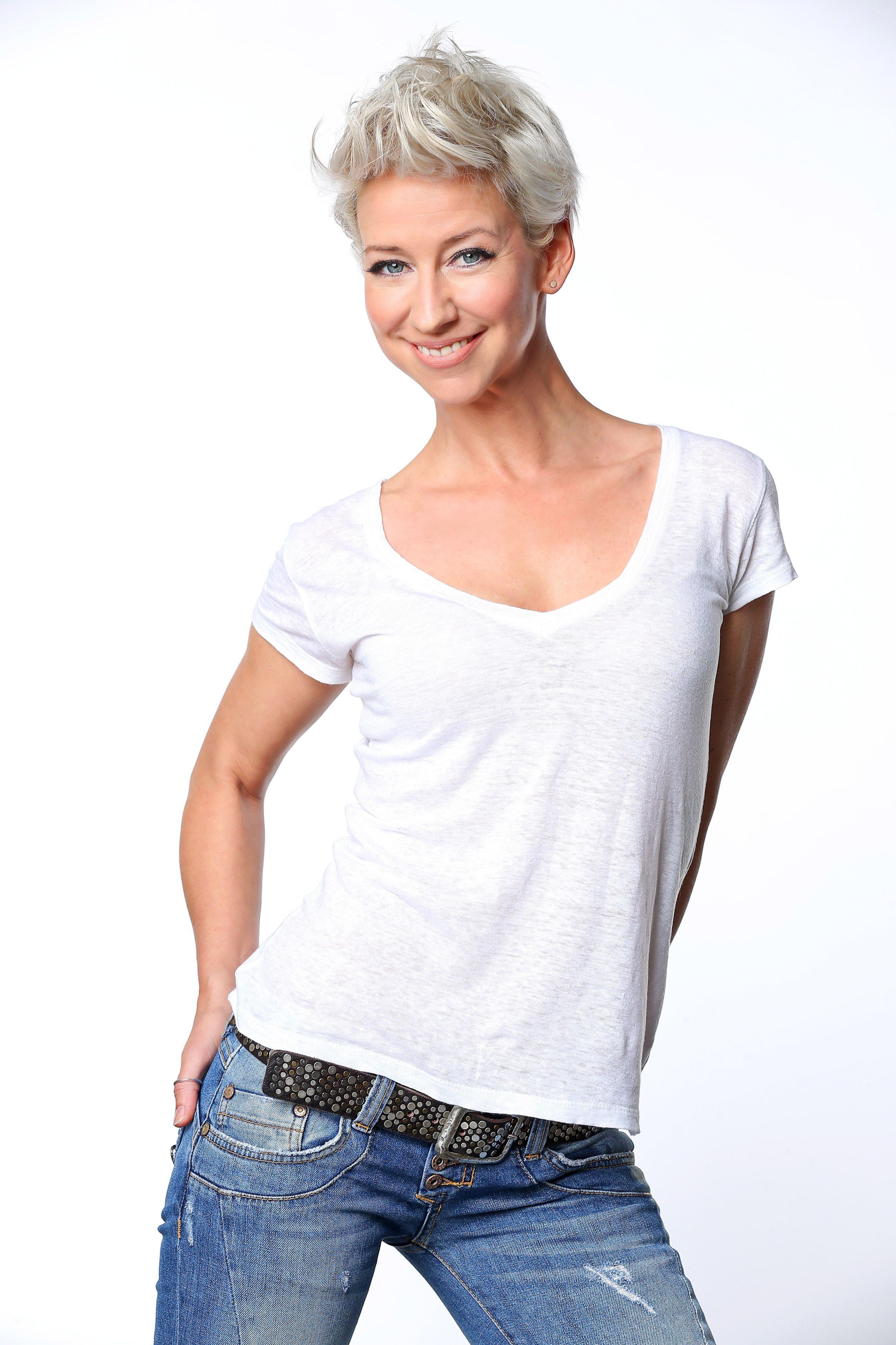 Isabell Hertel spielt Ute Fink