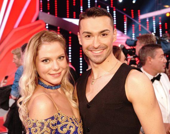 Cheyenne Pahde tanzt mit Andrzej Cibis