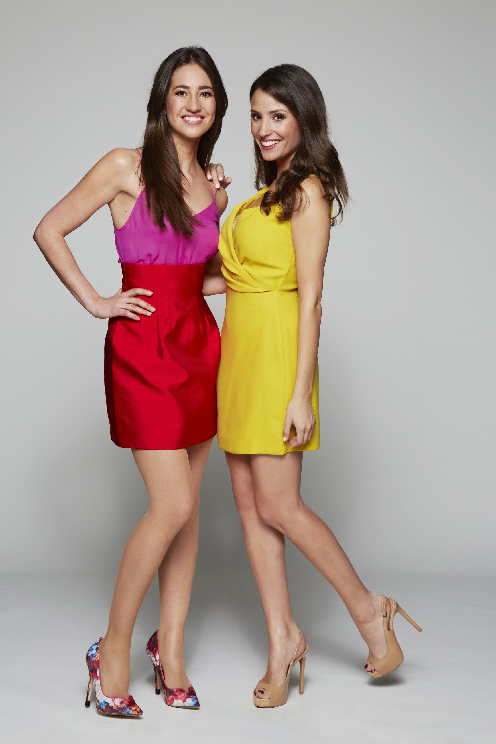 Elena Garcia Gerlach und Nadine Menz (r.)