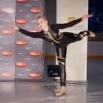 Das VibraFace-Shooting beginnt und Marie (Judith Neumann) begeistert alle mit ihrem Talent und ihrem Einsatz. (Quelle: RTL / Guido Engels)