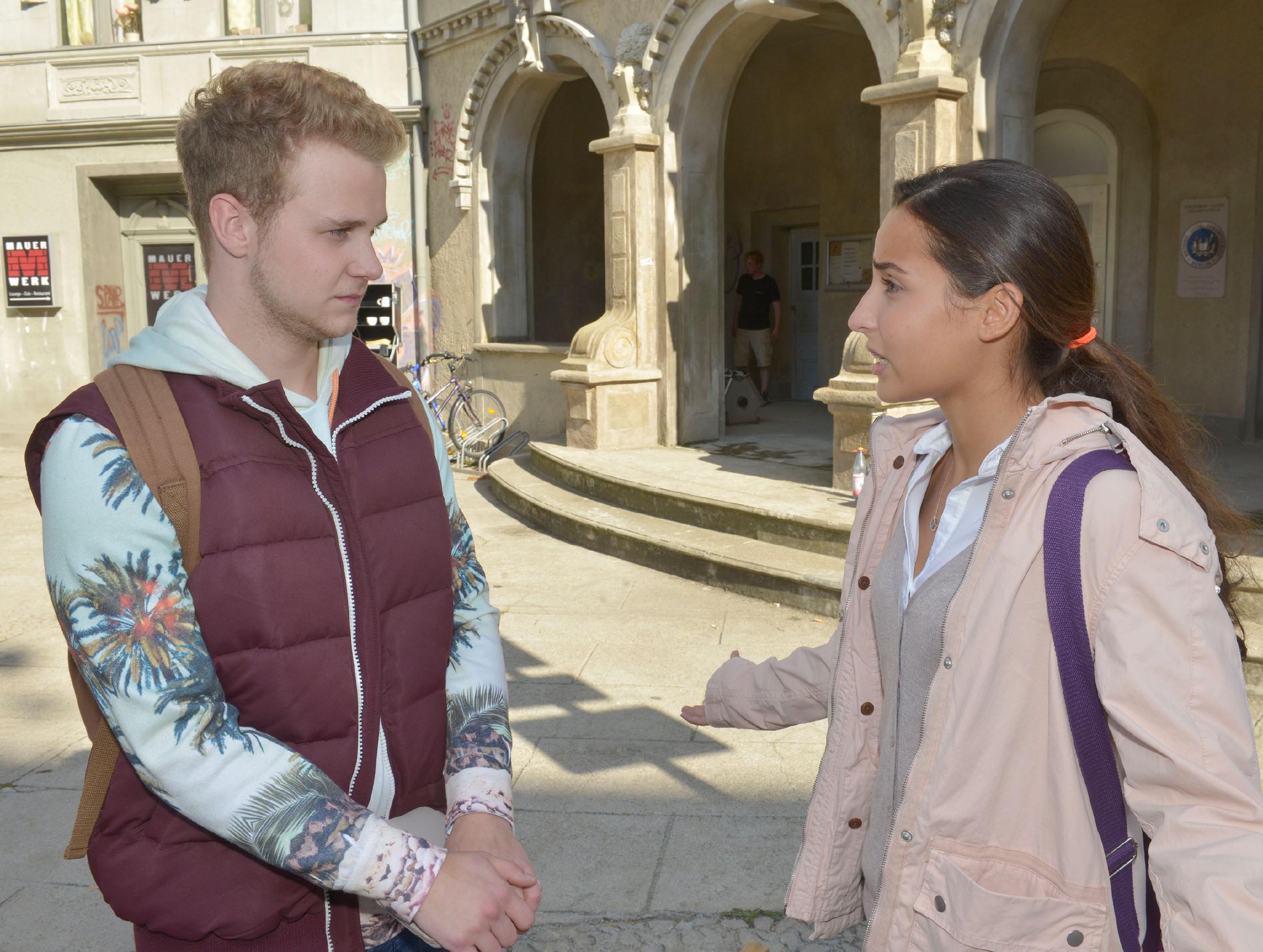 Jonas und Selma am Anfang ihrer Liebe