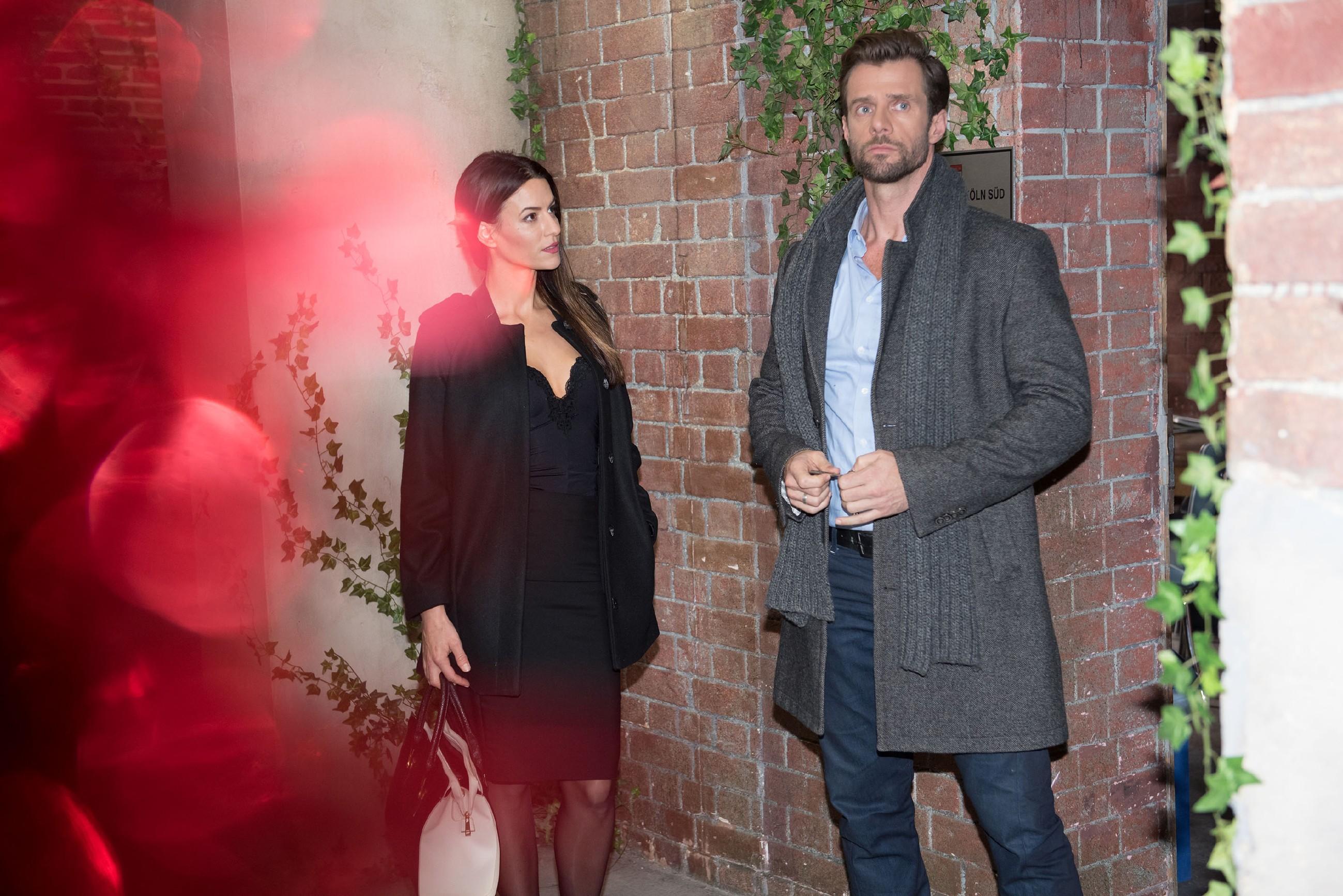 Während Ute voller Hoffnung glaubt, die Krise gemeinsam überstanden zu haben, trifft Henning (Benjamin Kiss) unvorbereitet auf Ricarda Schätzke (Anna Lena Class)... (Quelle: RTL / Stefan Behrens)