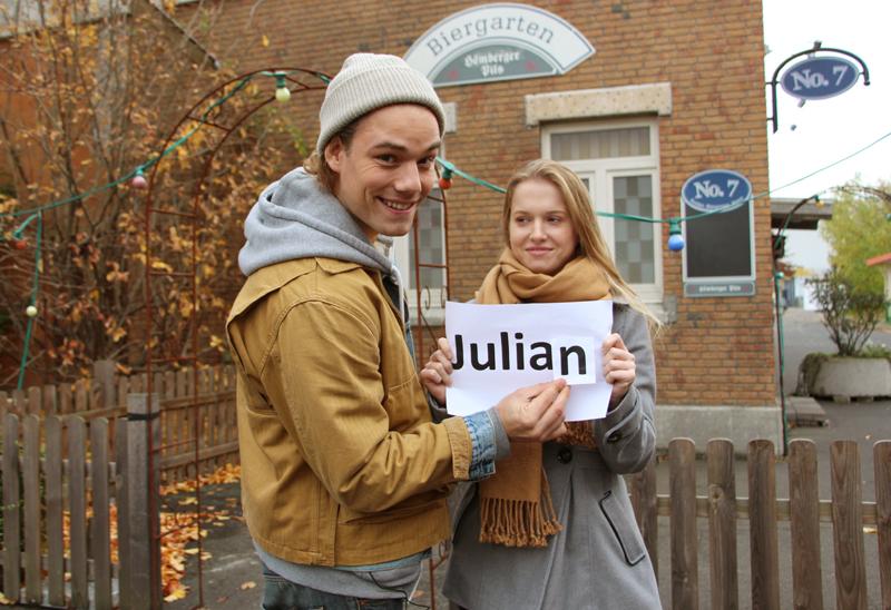 Julian Bayer und Julia Albrecht (Quelle: RTL 2)