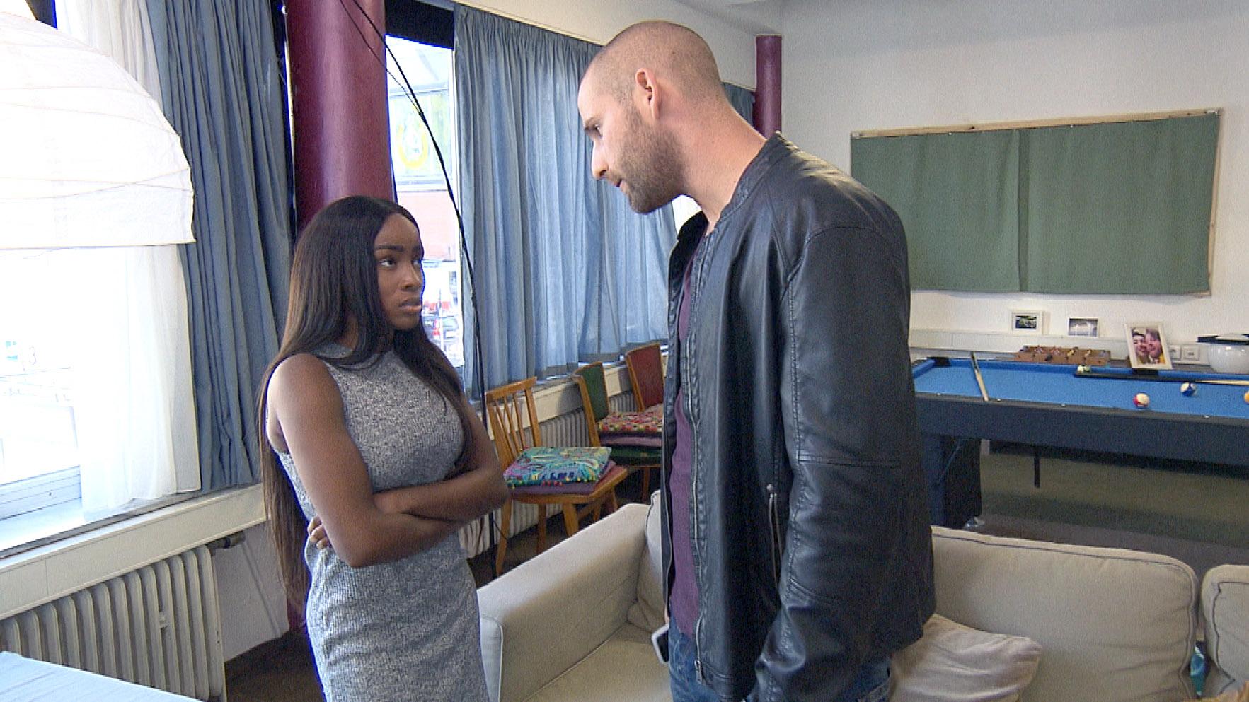 Patrick ist sauer auf Michelle.. (Quelle: RTL 2)