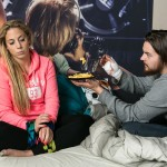 Iva (Christina Klein) versucht Matthias (Philipp Noack) zu manipulieren, um sich und Ben zu retten. (Quelle: RTL / Kai Schulz)