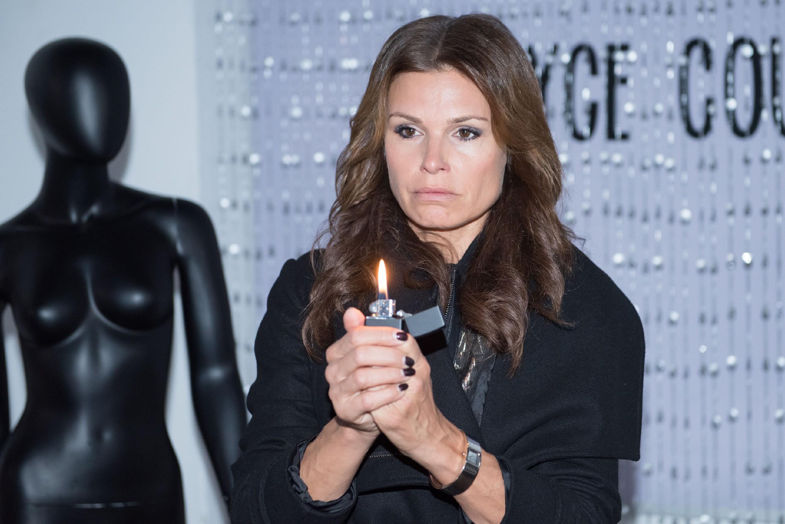 In ihrem verzweifelten Versuch, ihre Existenz als Geschäftsfrau zu retten, ist Britta (Tabea Heynig) bereit, äußerst drastische und gefährliche Maßnahmen zu ergreifen... (Quelle: RTL / Stefan Behrens)