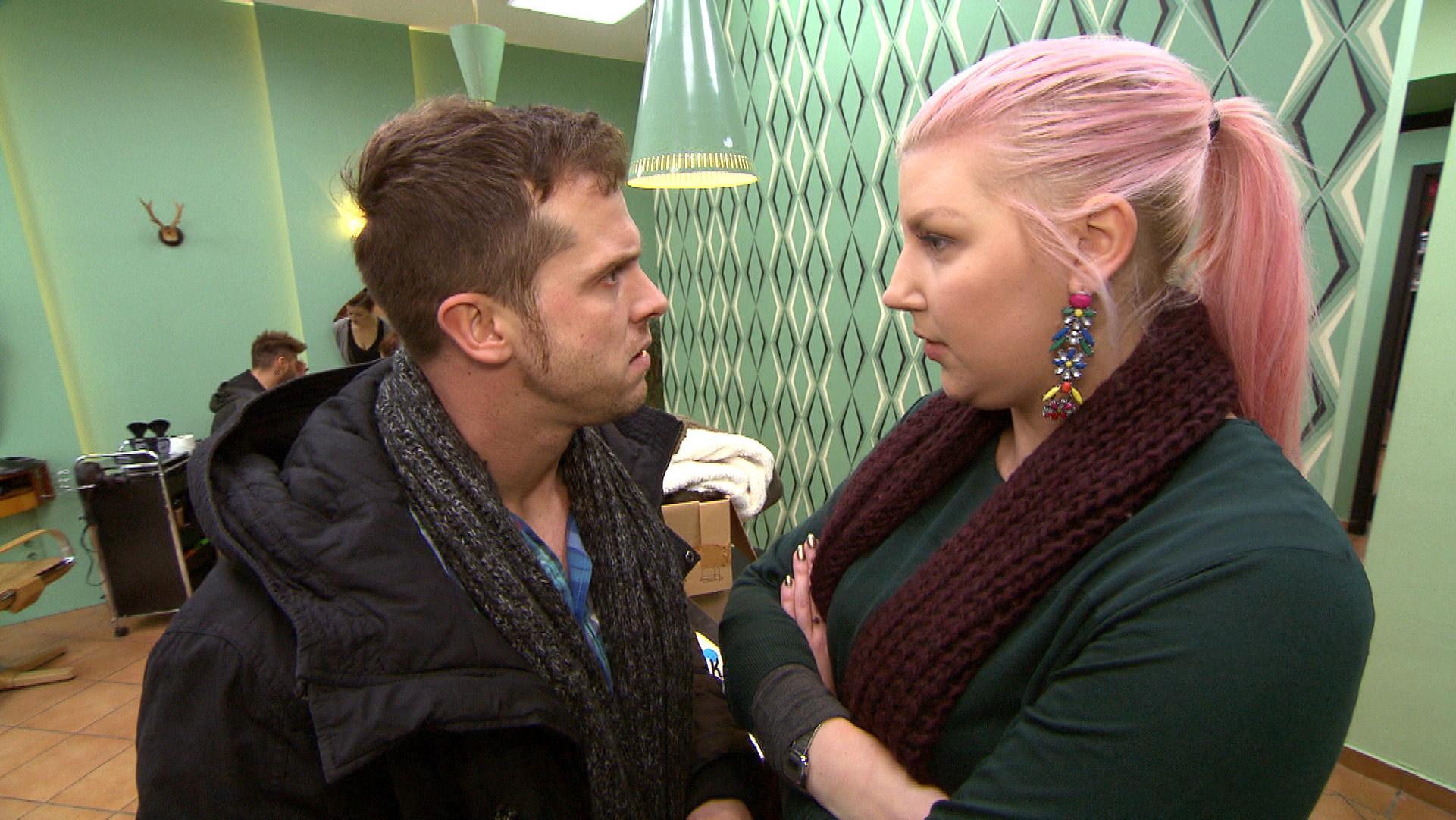 Das Streitlisten-Ultimatum geht dem Ende entgegen, und alles deutet darauf hin, dass Paula und Basti den Test bestehen...(Quelle: RTL 2)