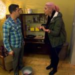 Als Paula herausfindet, dass Basti hinter ihrem Rücken schon eine Wohnung ausgesucht hat, wird sie wütend. (Quelle: RTL 2)