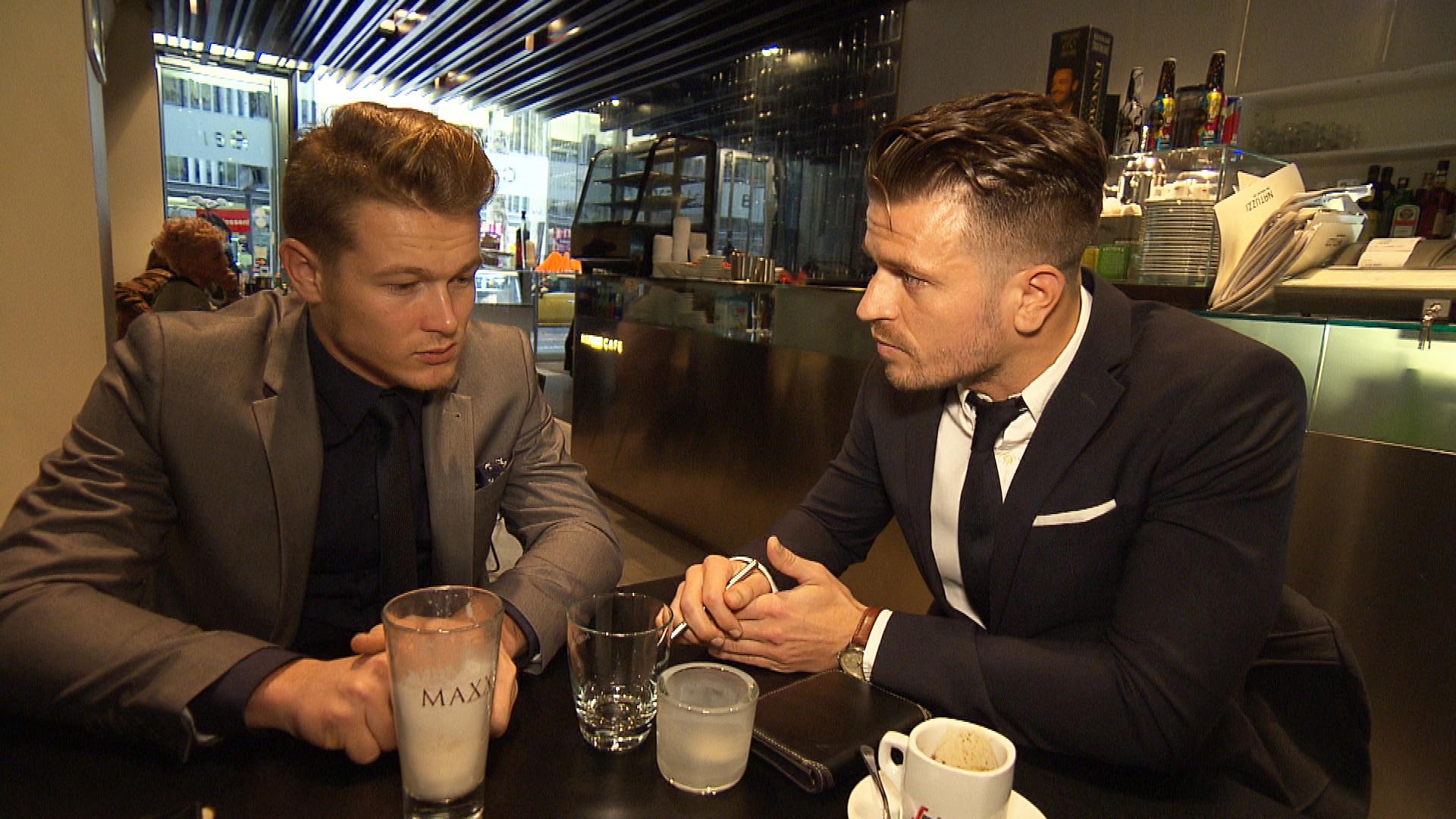 Valentin und Anwalt (Quelle: RTL 2)