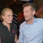 Maren (Eva Mona Rodekirchen, l.) quält es, dass sie Alexander (Clemens Löhr) nicht sagen kann, warum sie ihn bei ihrem letzten Date versetzt hat. Schließlich ringt sie sich dazu durch, ihm eine Notlüge aufzutischen und hofft auf eine neue Chance... (Quelle: RTL / Rolf Baumgartner)