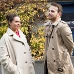 Tobias (Patrick Müller) spielt seine Gefühle vor Caro (Ines Kurenbach) herunter. (Quelle: RTL / Stefan Behrens)
