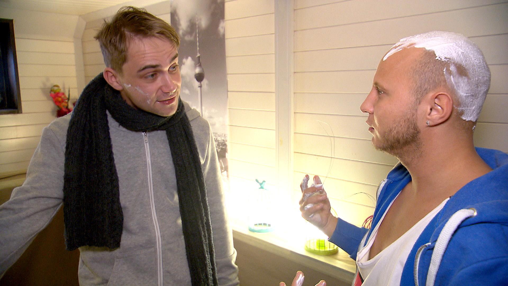 Schmidti (li.) und Krätze (Quelle: RTL 2)