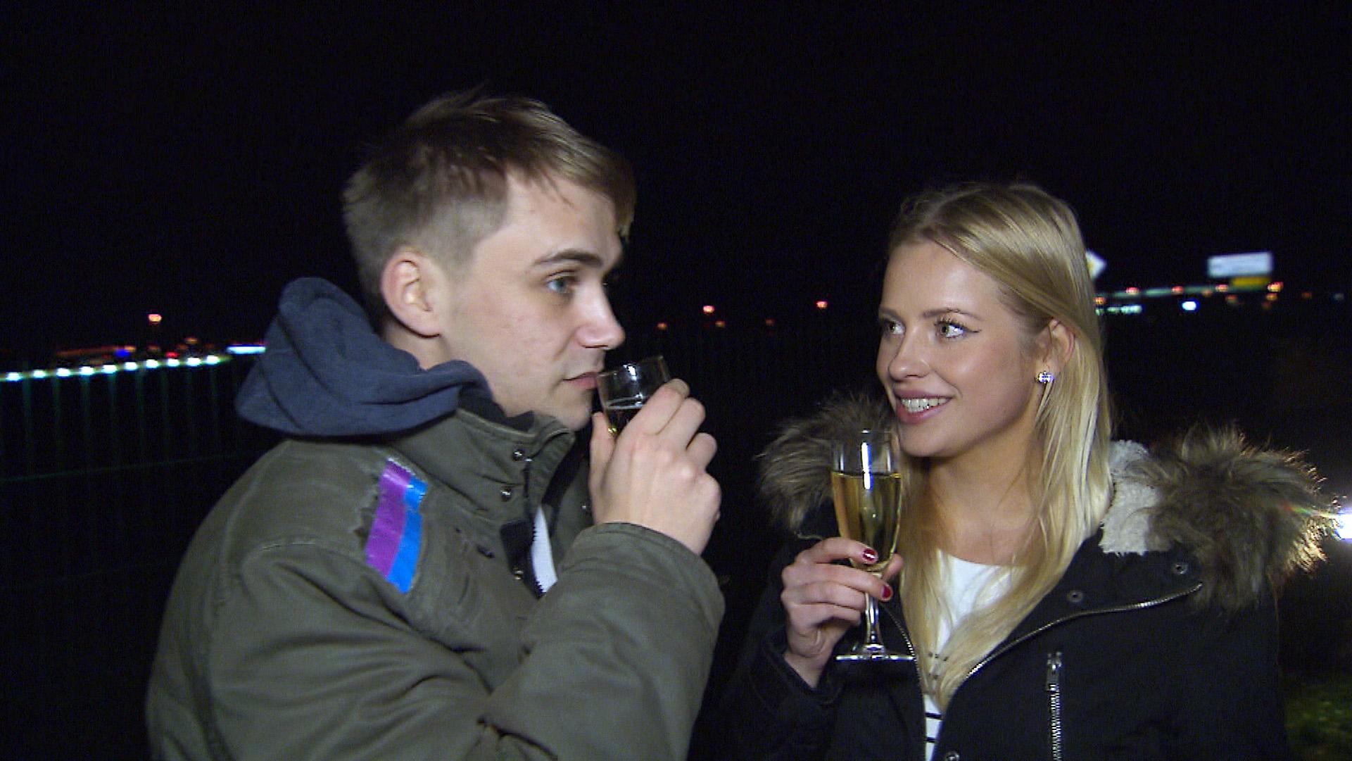 Schmidti und Finja (Quelle: RTL 2)