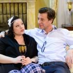 Christoph (Lars Korten) beteuert Vanessa (Julia Augustin) seine Liebe. (Quelle: RTL / Willi Weber)