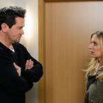 Lena (Juliette Greco) muss enttäuscht feststellen, dass Marian (Sam Eisenstein) ihre Versöhnungsabsichten nicht teilt. (Quelle:RTL / Willi Weber)