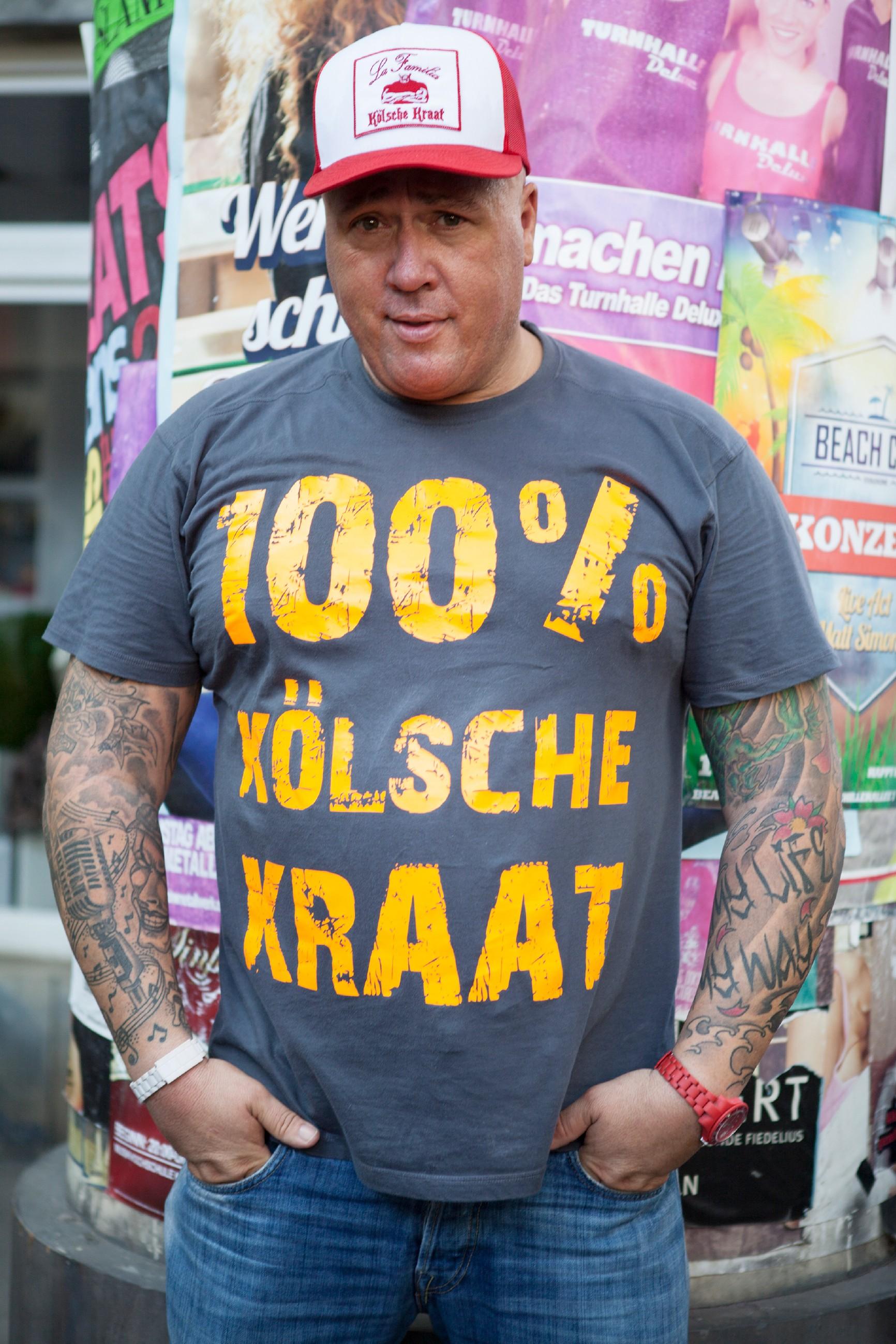 """Ramon Ademes, der """"Kölsche Kraat"""" (Quelle: RTL / Kirstin Günther)"""