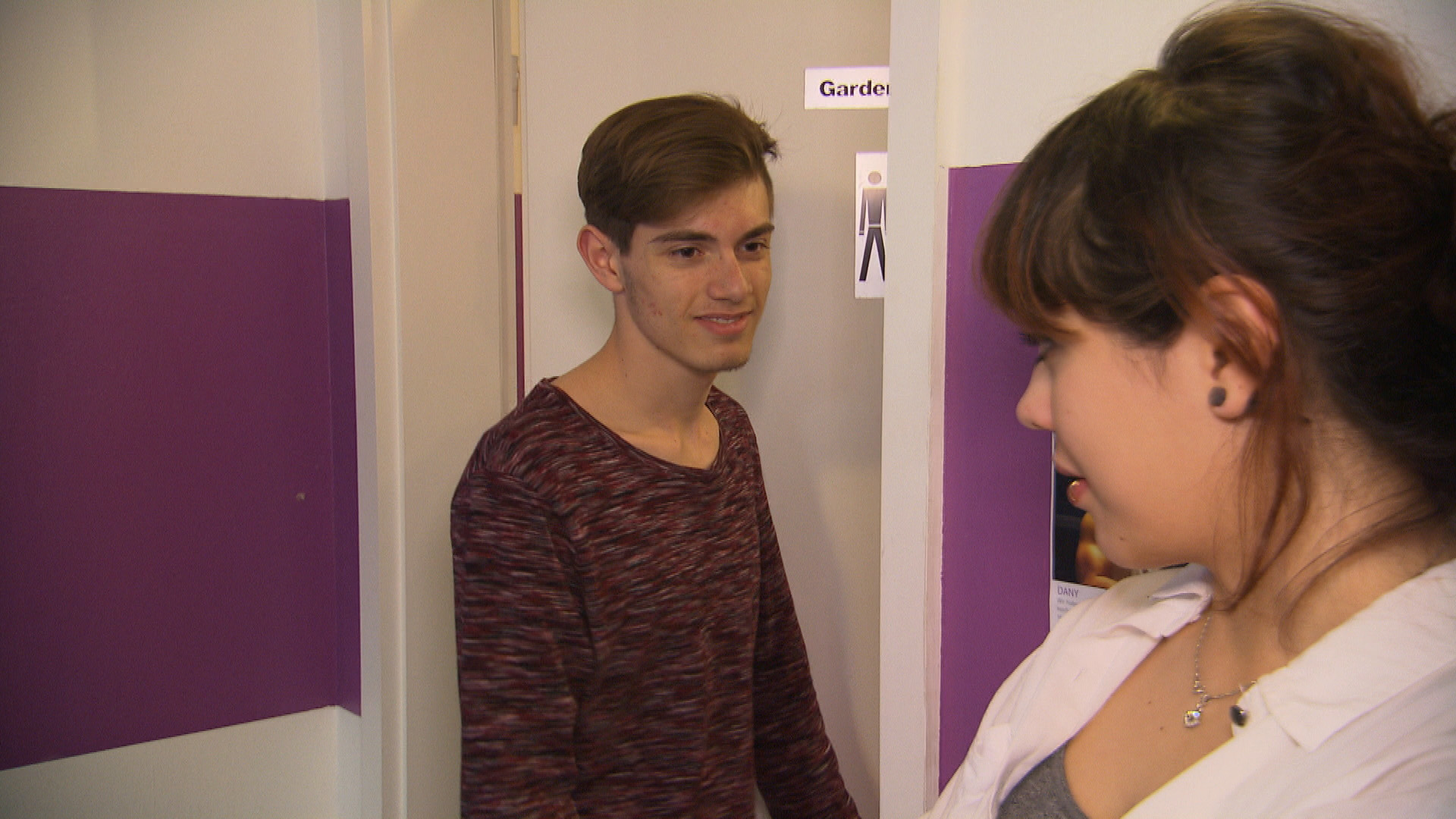 Malte,li. Aylin,re. (Quelle: RTL 2)