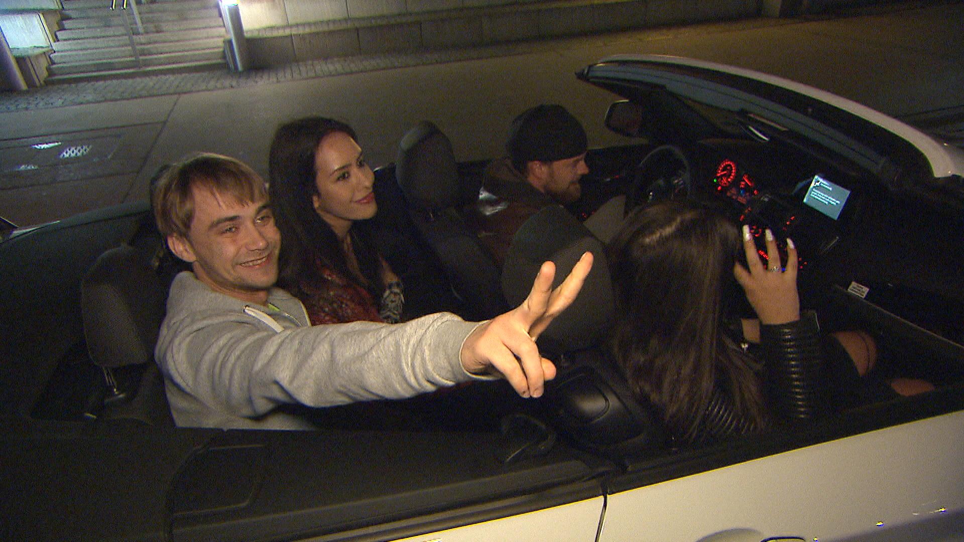 Schmidti,li. Elif,Mi. Feunde (Quelle: RTL 2)