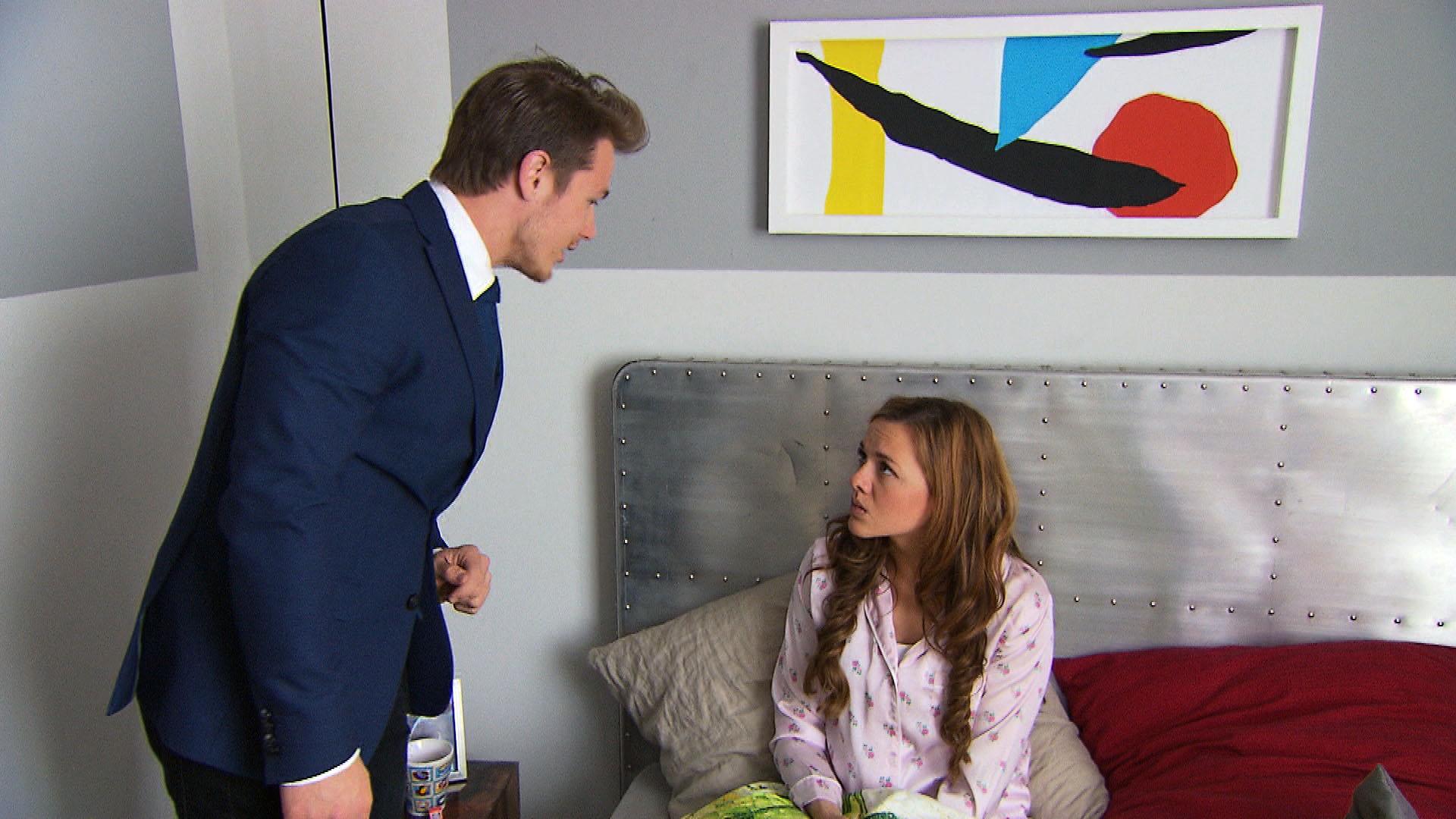 Valentin,li. Anna,re. (Quelle: RTL 2)