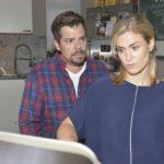 Leon (Daniel Fehlow) und Sophie (Lea Marlen Woitack) versuchen, die Sorge über den Herzfehler ihres Kindes nicht die Oberhand gewinnen zu lassen. Doch beide gehen unterschiedlich mit der Situation um, und so kommt es fast zum Streit... (Quelle: RTL / Rolf Baumgartner)