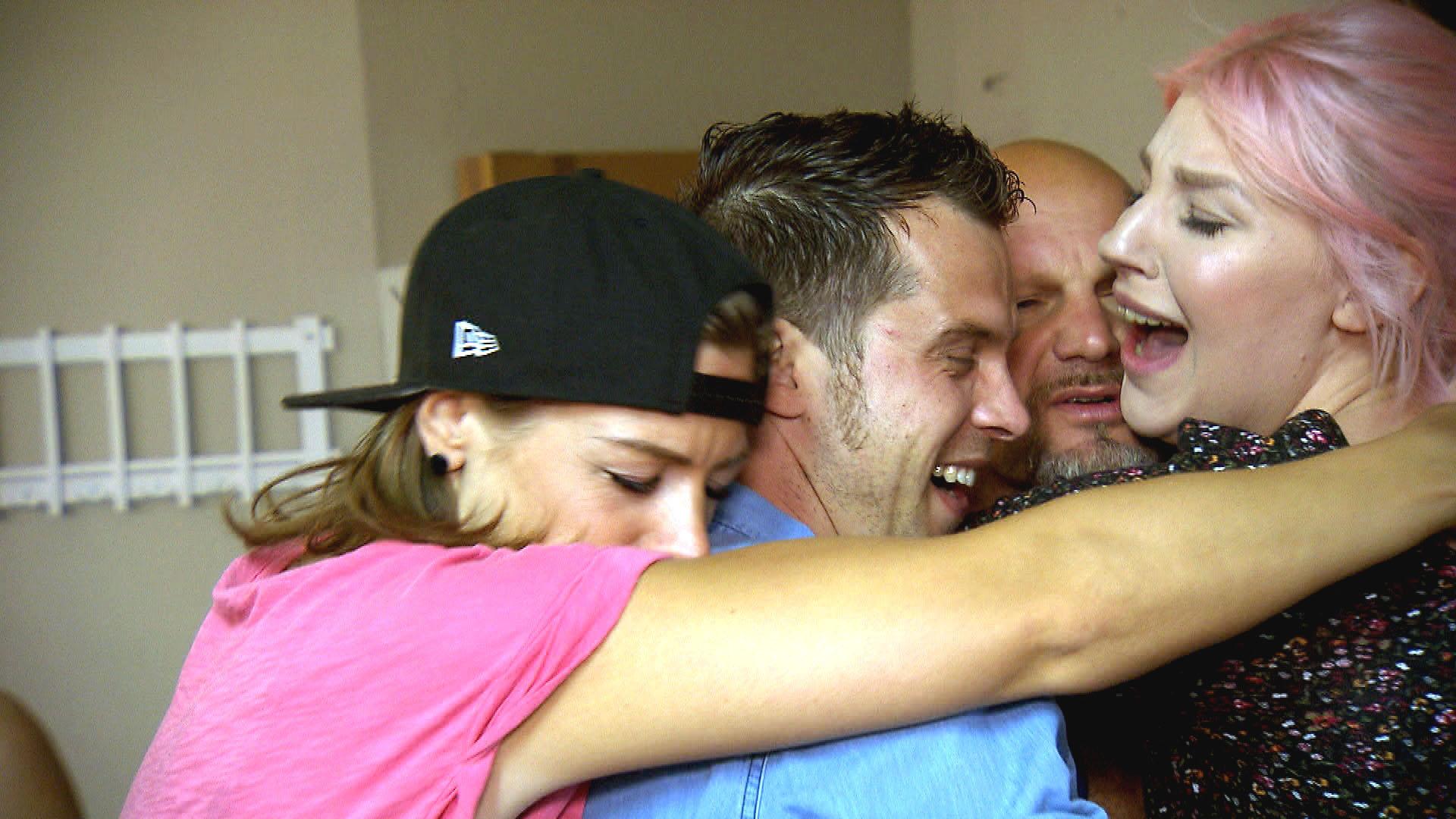 v.l.n.r.: Alina, Basti, Joe, Paula (Quelle: RTL 2)