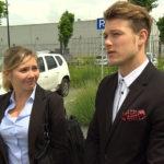 Chantal (li.) und Valentin (re.) (Quelle: RTL 2)
